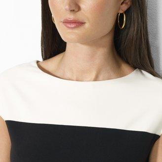Ralph Lauren Cap-Sleeved Shift Dress