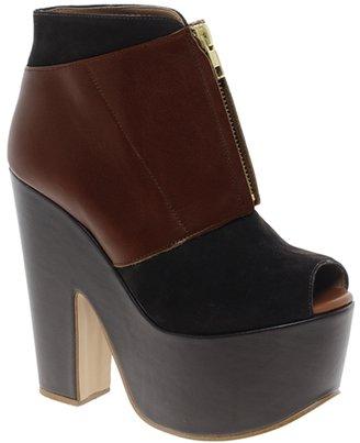 Asos PREMIUM T-BIRD Leather Shoe Boots