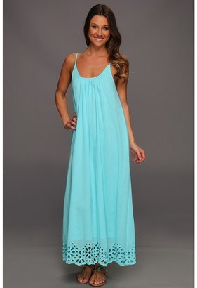 Seafolly Kirra Maxi Dress Cover-Up (Ice) - Apparel