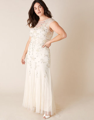 Monsoon Isabella Bridal Dress Ivory