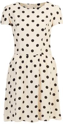 Topshop Tall Polka Dot Dress