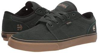 Etnies Barge LS (Green/Gum) Men's Skate Shoes