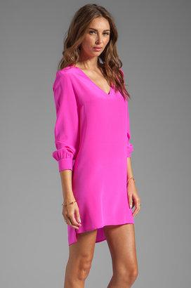 Amanda Uprichard V Neck Dress