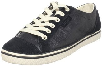 Crocs Women's Hover Lace Up Leather W Fashion Sneaker
