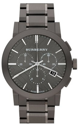 Burberry Large Chronograph Bracelet Watch, 42mm $895 thestylecure.com