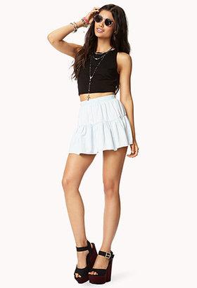 Forever 21 Chambray Skirt