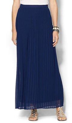 Sabine Pleated Maxi Skirt