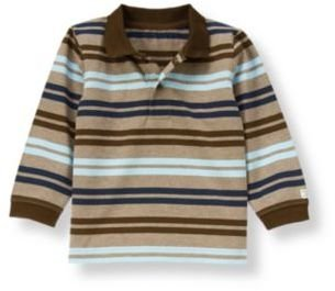 Janie and Jack Stripe Polo Shirt