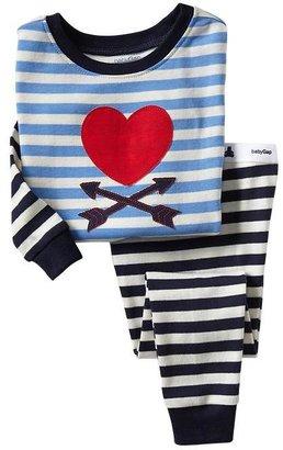 Gap Heart stripe sleep set