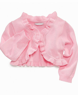 First Impressions Baby Sweater, Baby Girls Ruffle Cardigan