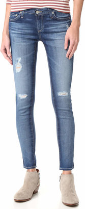 AG Ankle Legging Jeans $224 thestylecure.com