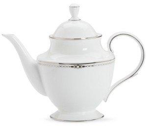 Lenox Pearl Platinum 40-oz. Teapot