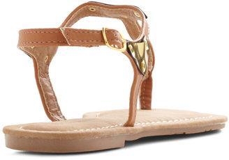 Gold It Together Sandal