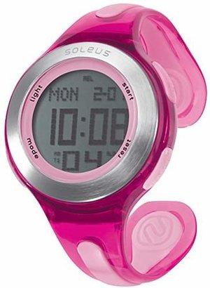 Soleus Women's SR017-600 Swift Digital Display Quartz Pink Watch