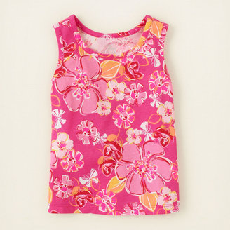 Children's Place Matchables print tank top