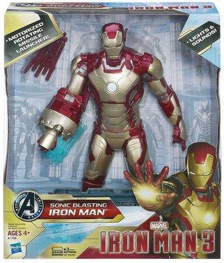 Hasbro Marvel Iron Man 3 Sonic Blasting Iron Man Figure by