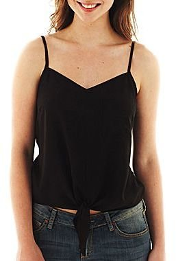 JCPenney Tie-Front Cami