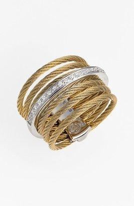 Alor 7-Row Cable & Diamond Ring