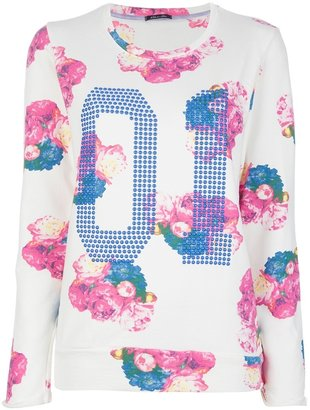 Twist'n'scout printed sweatshirt