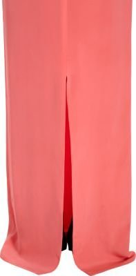 Stella McCartney Long Sleeve Side Slit Gown
