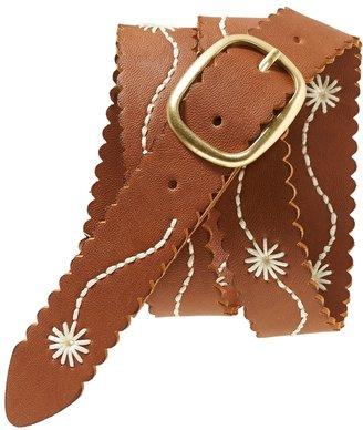 Aeropostale Flower Stitch Belt