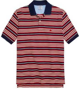 Brooks Brothers Golden Fleece® Slim Fit Multistripe Polo