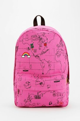 Carrot Map Backpack