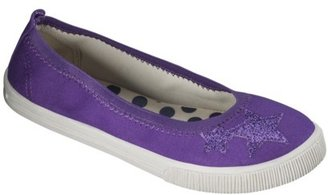 Circo Girl's Hummingbird Canvas Sneaker - Purple