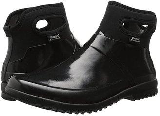 Bogs Seattle Solid Mid (Black) Women's Rain Boots