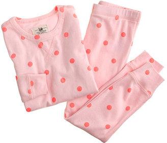 J.Crew Girls' polka-dot sleep set