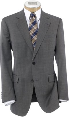 Jos. A. Bank Executive 2-Button Wool Suit with Center Vent with Pleated Front Trousers Extended Sizes