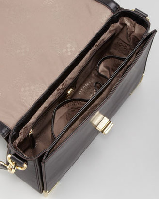 Vince Camuto Albe Leather Tech Bag, Caviar