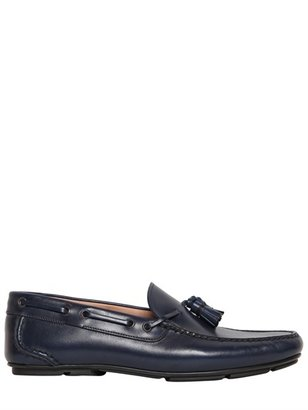 Salvatore Ferragamo Simone Tasselled Leather Loafers