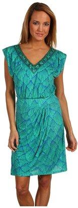 Hale Bob Seaside Heights Dress (Green) - Apparel
