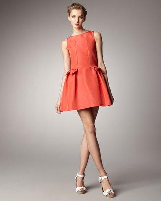 RED Valentino Bow-Pocket Dress