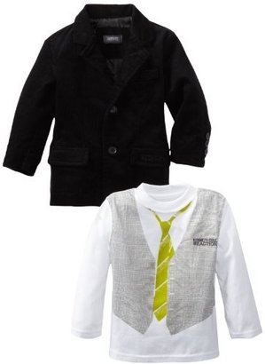 Kenneth Cole Boys 2-7 Toddler Blazer with Shirt and Jean