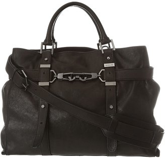 Rachel Zoe Hutton Large Tote (Black) - Bags and Luggage