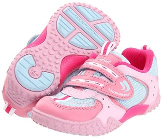 Tsukihoshi Wheel (Toddler/Youth) (Pink/Light Blue) - Footwear