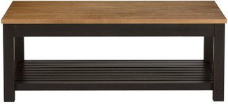 Ethan Allen William rectangular coffee table