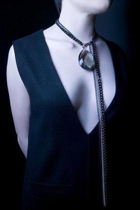 Von Kottwitz Rock Crystal Lanyard Necklace