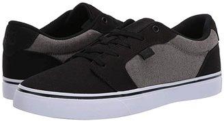 DC Anvil (Black/Herringbone) Men's Skate Shoes