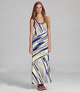 Calvin Klein Bias-Cut Maxi Dress
