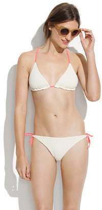 Madewell Basta® surf raglan string bikini top
