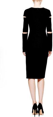 Cushnie et Ochs Dondi Jersey Cutout Dress