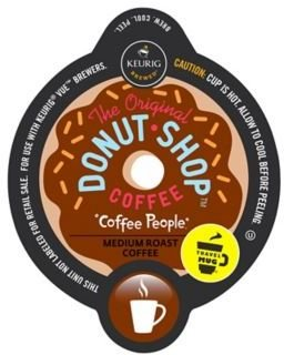 Vue® 12-Count The Original Donut Shop Coffee People® Travel Mug Coffee for Keurig Brewers