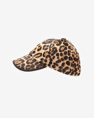 Hat Attack Cheetah Print Haircalf Baseball Cap