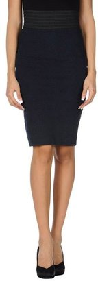 GANNI Knee length skirt