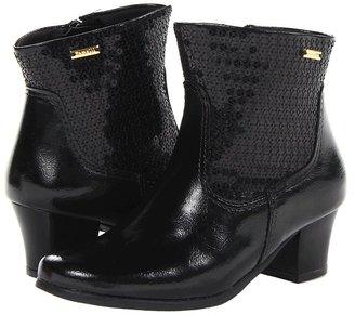 Pampili Divas (Little Kid/Big Kid) (Black) - Footwear
