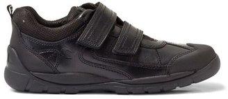 Start Rite Start-rite Oliver Black Leather Velcro Shoe