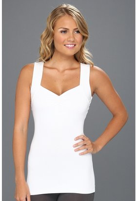 Sara Blakely Assets by Standout Slimmers Sweetheart Tank (White) - Apparel